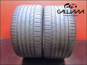 2 Two Tires Continental 315 35 20 Contisportcontact 5 Runflat Bmw 110w 48846