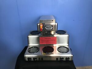 Bunn Omatic Rtf Rt Automatic Coffee Brewer Maker 5 Burners Commercial Restaurant