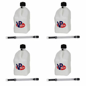 Vp Racing 5 Gallon Motorsport Racing Fuel Gas Can 4 Pack 14 Hose 4 Pack