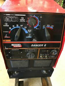 Perfect Lincoln Ranger 8 Welder Generator With 209 Hours