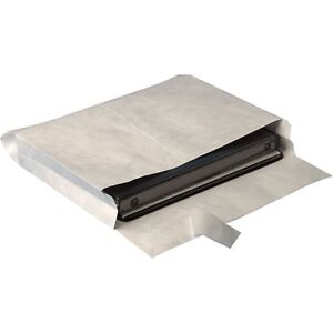 10 X 13 Tyvek Side opening Easyclose Catalog Envelopes With 2 Expansion 100 Ct