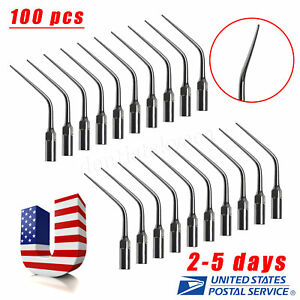 100x Dental Endodontic Ultrasonic Scaler Endo Tip E3 Fit Ems Woodpecker Usps