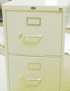 Office Depot File Cabinet 2 Drawer Putty 15 w X 26 1 2 d X 28 h