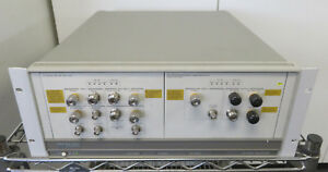 Hp Agilent 70420a 001 70427a E5504b Opt 001 401 440 E23 Phase Noise Measurement