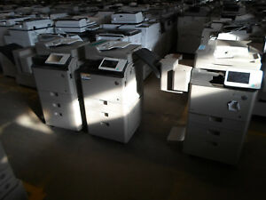 Lot Of 3 Canon Imagerunner Advance C350if Color Copier Ct
