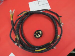 New 1939 Ford Deluxe 1939 Mercury Headlamp Wiring Harness 91a 11653 b