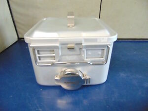 Aesculap 78532 Sterilization Container With Flash Guard Vent R349x
