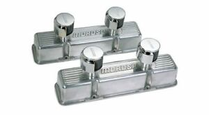 Moroso Die Cast Aluminum Valve Covers 68380 Chevy Sbc 283 305 350 400 Polished