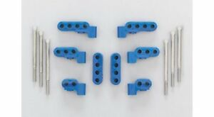 Mfy Ignition Wire Loom separator Horizontal Top Mount Nylon blue 7 8mm Sbc