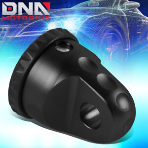 Aluminum D ring Prolink Xtv Shackle Mount Thimble Off road Winch Recovery Black