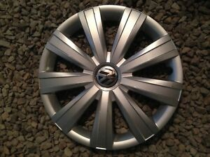 Vw Jetta 2011 2012 2013 2014 2015 15 Hubcap Wheel Cover 5c0601147vzn 61562 2