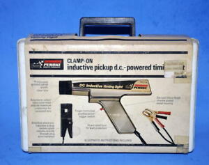 Sears Penske Inductive Pickup Dc Powered Timing Light W Case Manual Excellent