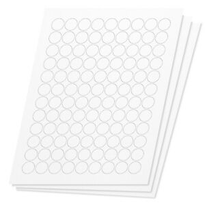 For Laser Inkjet Printers Round Circle Dot 3 4 Stickers Labels 16200 Labels