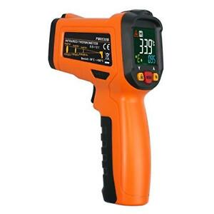 Proster Non contact Digital Infrared Thermometer Color Screen Laser Temperature