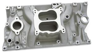 Gm Vortec Low Rise Intake Manifold Chevy Sbc 283 327 350 Fits Vortec Heads