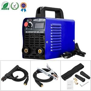 Welding Machine Arc 200 Igbt Inverter Welder Ac Dc 110v 200 Amp Mini Welders Wi