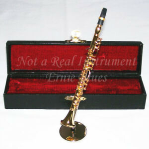 Miniature Clarinet with Case - 5-1/2