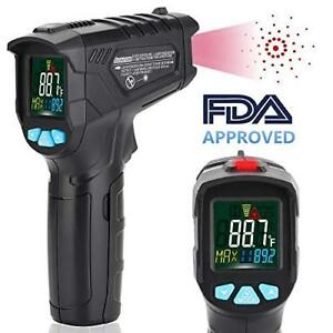 Infrared Thermometer Non contact Digital Laser Ir Temperature Gun For Kitchen