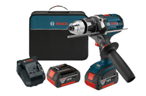 Bosch Brand New 18v Drill Driver Cordless Lithium ion 1 2 In Brute Tough
