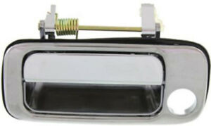 Front Driver Side Chrome Exterior Door Handle For 1991 1997 Toyota Land Cruiser