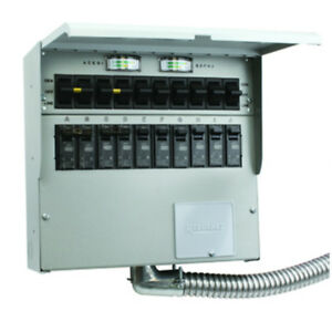 Reliance Controls 510c Generator Transfer Switch 50 Amp 10 Circuit