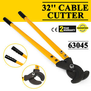 32 1000 Mcm Wire Cable Cutter 1 3 4 Communica Standard Aluminum Cable Pro