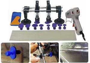 24pcs Car Body Paintless Dent Repair Removal Tools Double Bridge Pullers