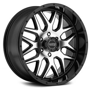 20 Inch Wheels Rims Black Silver Ford F F150 Expedition Truck 6x135 Ar910 New 4