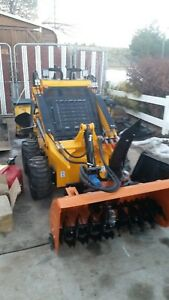Mini Skid Steer Infront Machinery Construction Comes With Bucket