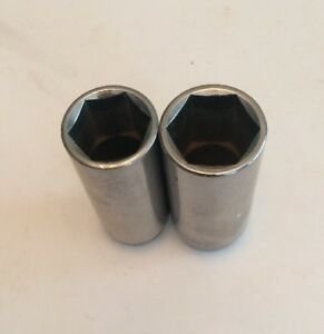 Matco Tools Lot Of 2 Deep 3 8 Drive 6 Point Sockets 13 16