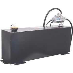 Better Built 36gal Steel Transfer Fuel Tank W gpi 12v 8gpm Pump Rectangular