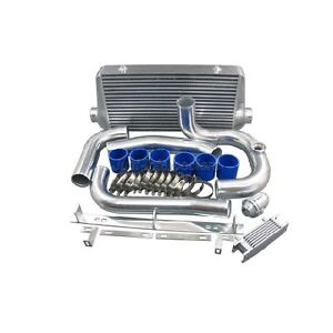 Cxracing Intercooler Kit For 93 02 Toyota Supra Mkiv 2jz Gte Factory Twin Turbo