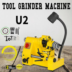 U2 Universal Tool Cutter Grinder Machine 100mm Grinding Drill Bits Lathe Tool