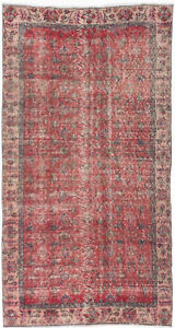 Hand Knotted Turkish 3 8 X 6 10 Keisari Vintage Wool Rug Discounted
