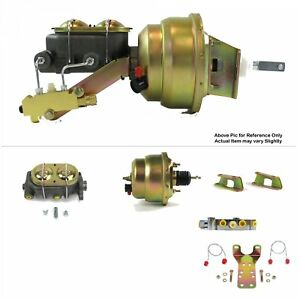 1961 64 Ford Truck Fw Mount Power 7 Dual Brake Booster Kit Disc disc Sbf Fe 302