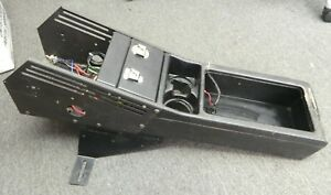 98 11 Crown Victoria Police Center Console W Mounting Bracket