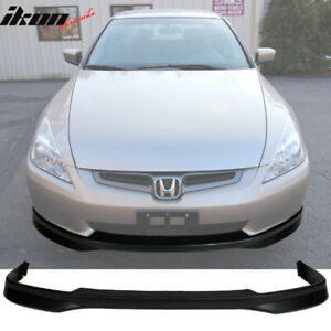 Fits 03 05 Honda Accord Sedan Type R Front Bumper Lip Pp