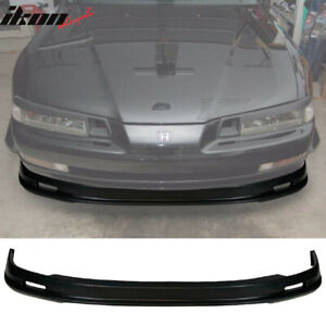 Fits 92 96 Honda Prelude Mugen Style Front Bumper Lip Spoiler Pp