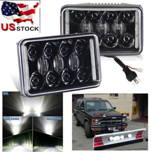 Dot 4x6 Led Headlight Hi Lo Drl For Blizzard Snowplow Snow Plow 680lt 720lt 810