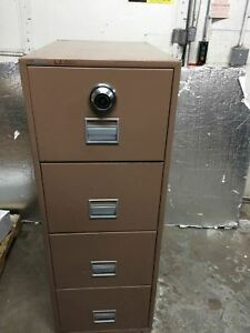 Schawab Fireproof File Cabinet Drawers Are Locked Great Deal