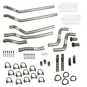 Summit Racing Header back Dual Exhaust System 680141 nm