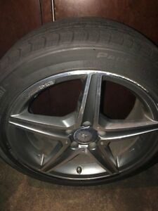 Mercedes Benz Amg Factory Rims Alloy 18 Inch Staggered Offset And Tires