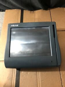 Micros Workstation 4 System Unit 500614 001 Pos Touchscreen need New Os