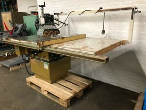 Powermatic Hd 12 Tilting Arbor Table Saw Model 68 With Feeder
