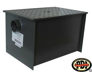 Pdi Certified Wentworth Grease Trap Interceptor New 40 Lb 20gpm Model Wpgt20