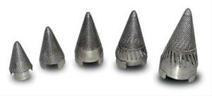 Dynatech Exhaust Vortex Insert Cone Stainless Steel 3 0 Dia 4 750 Length Ea