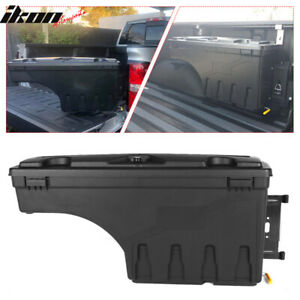 Fits 07 18 Silverado Sierra Truck Storage Box Swing Case Toolbox Passenger Side