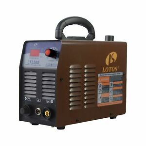 Lotos Technology Lt3500 35amp Air Plasma Cutter 2 5 Clean Cut 110v 120v Input