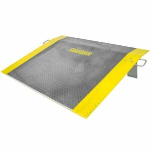 48 X 60 Loading Dock Plate For Pallet Jack Truck 2 900lb Capacity