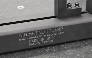 C m metalliclamp A New Workholding Fixture For Cmm Zeiss Renishaw Mitutoyo Faro